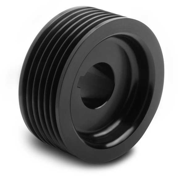 90636 - Weiand Powercharger Upper Pulley - 6-Rib, 2.5
