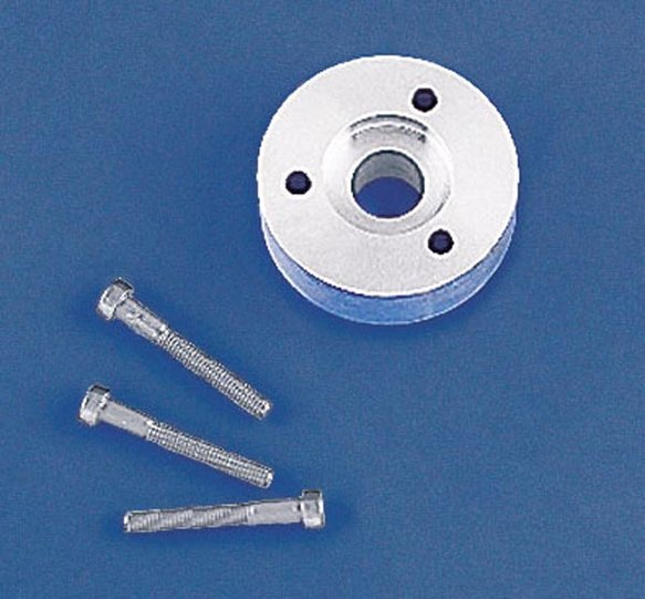 90683 - Weiand Harmonic Balancer Spacer Kit - Ford 174 Supercharger Image