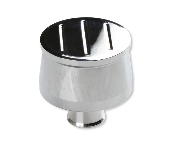 9116G - Mr. Gasket Breather Cap - Ball-Milled Billet Aluminum Image