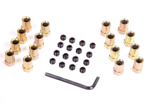 923G - ROCKER NUTS w/ Locks - 3/8