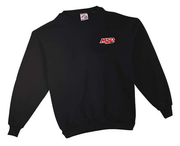 9387 - MSD Racing Sweatshirt, Black, XX-Large Image