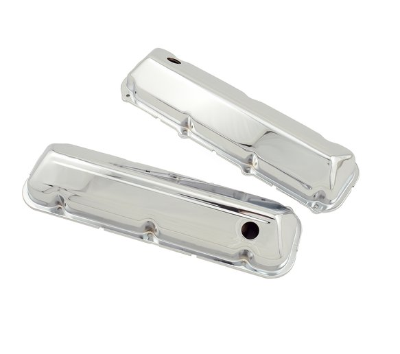 9413 - Chrome valve covers w/baffle for 1968-97 Ford 429-460 engines. Image