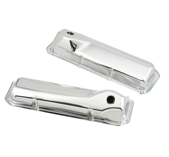 9414 - Chrome valve covers for 1971-82 Ford 351C/351M/400M engines. Image