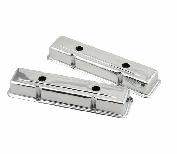 9420MRG - Chrome valve covers for 1958-86 Chevy small block 283-400 engines Image