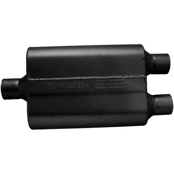 9424422 - 40 Delta Flow Muffler - 2.25 Center In / 2.25 Dual Out - Aggressive Sound - additional Image