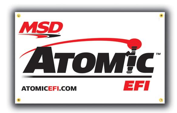 9424 - MSD Atomic Banner, 3' x 5' Image