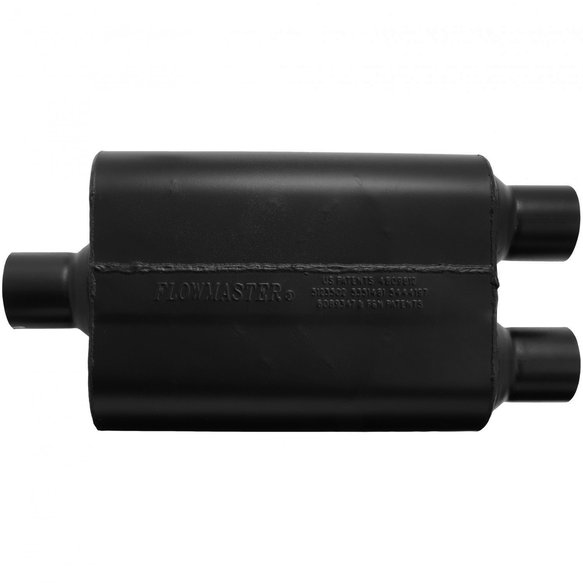 9425472 - Super 44 Muffler - 2.50 Center In / 2.50 Dual Out - Aggressive Sound - additional Image