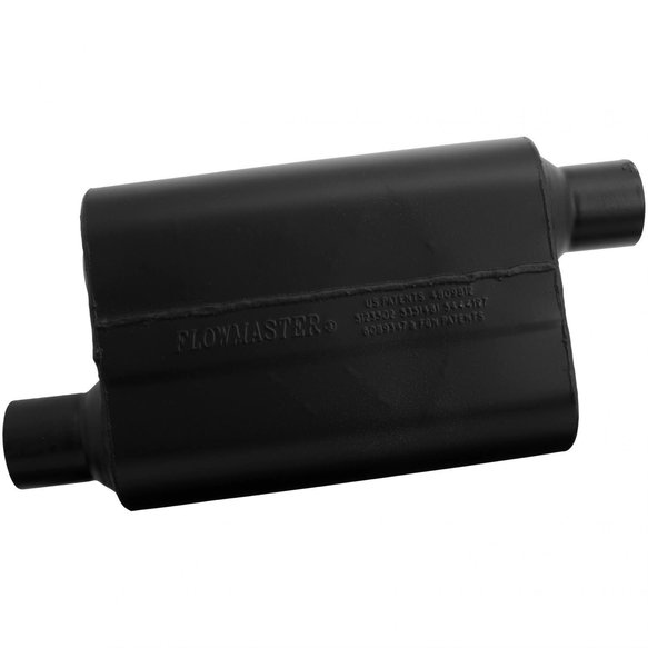 942548 - Super 44 Muffler - 2.50 Offset In / 2.50 Offset Out - Aggressive Sound - additional Image