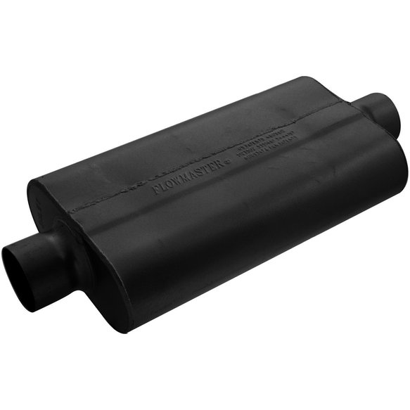 943050 - 50 Delta Flow Muffler - 3.00 Center In / 3.00 Center Out - Moderate Sound Image