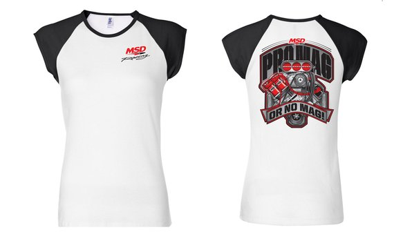 94583 - MSD Racing Ladies' Colorblock T-Shirt Image
