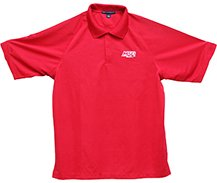 95111 - MSD Polo Shirt, Red, Medium Image
