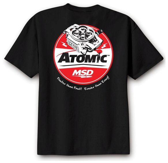 95115 - MSD Atomic T-Shirt, Black, Medium Image