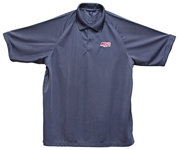 9512 - MSD Polo Shirt, Charcoal, Large Image