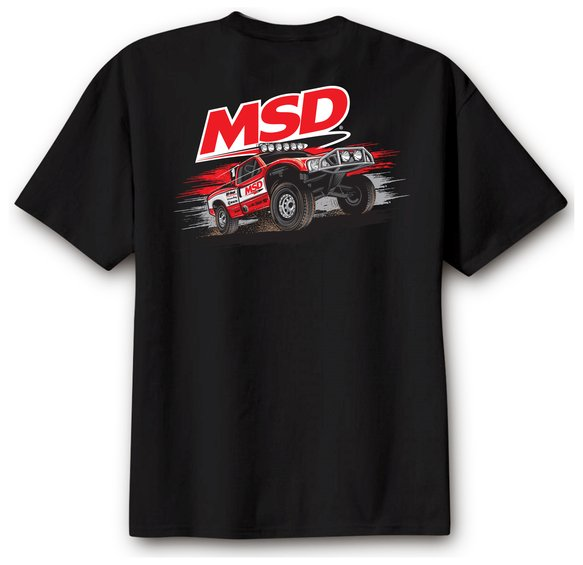 95123 - MSD Off Road T-Shirt, Black, Large Image