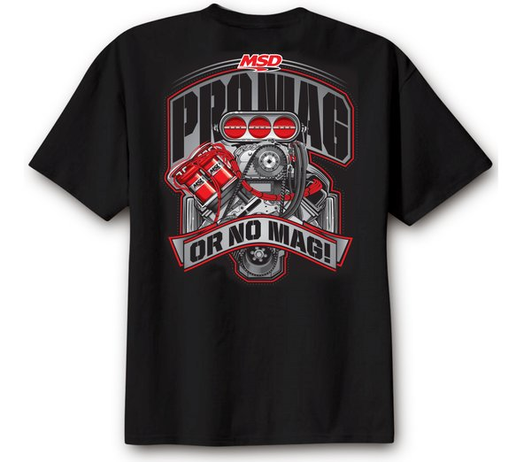 95127 - MSD Pro Mag, T-Shirt, Black, Large Image