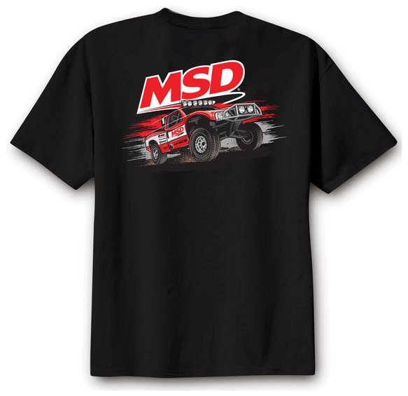 95133 - MSD Off Road T-Shirt, Black, X-Large Image