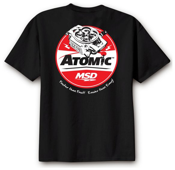 95135 - MSD Atomic T-Shirt, Black, X-Large Image