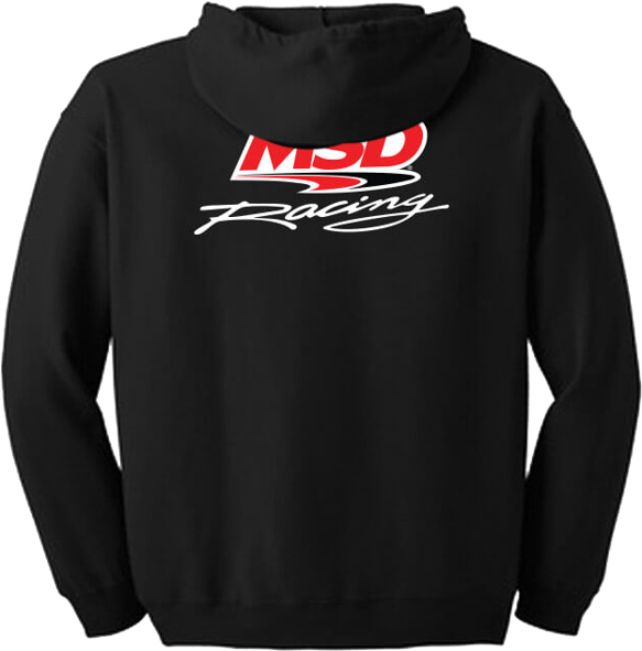 95210 - MSD Racing Zip Hoodie, Small - additional Image
