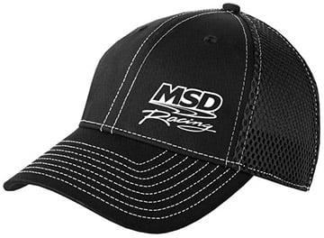 9523 - MSD Black Flexfit Mesh Baseball Cap Image