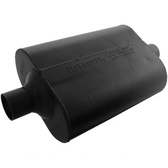 952445 - Super 40 Muffler - 2.25 Center In / 2.25 Center Out - Aggressive Sound Image