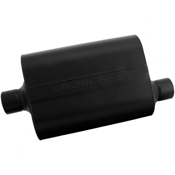 952547 - Super 40 Muffler - 2.50 Center In / 2.50 Offset Out - Aggressive Sound - additional Image
