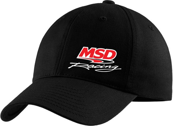 9526 - MSD Black Unstructured Baseball Cap Image