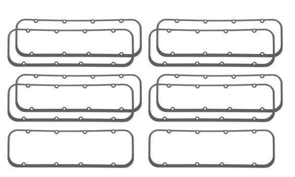 9529SMP - Valve Cover Gaskets - Ultra Seal - 262-400 Chevrolet Small Block Gen I 1955-86 - Dart Little Chief Heads - Master Pack (10 Pieces) Image