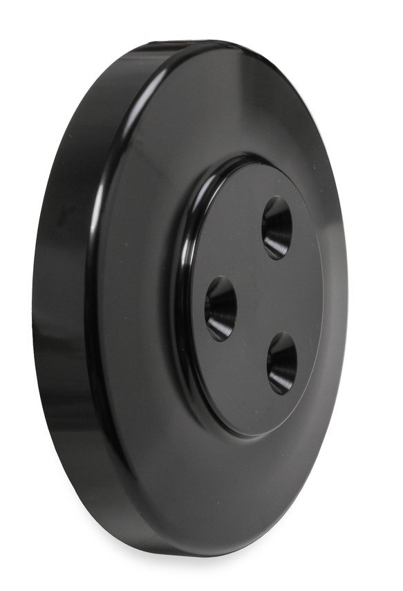 97-185 - SD7 Compressor Pulley Cover Black - additional Image