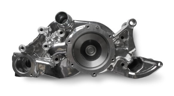 97-236 - LT COOLING MANIFOLD POLISHED-A/C and P/S Delete Image