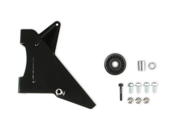 97-347 - Holley Gen III Hemi Alternator Relocation Bracket - Fits Mopar OEM Alternator Image