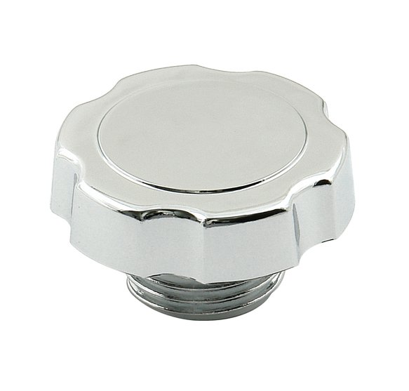 9724 - OIL FILLER CAP,SCREW IN, CHROME Image