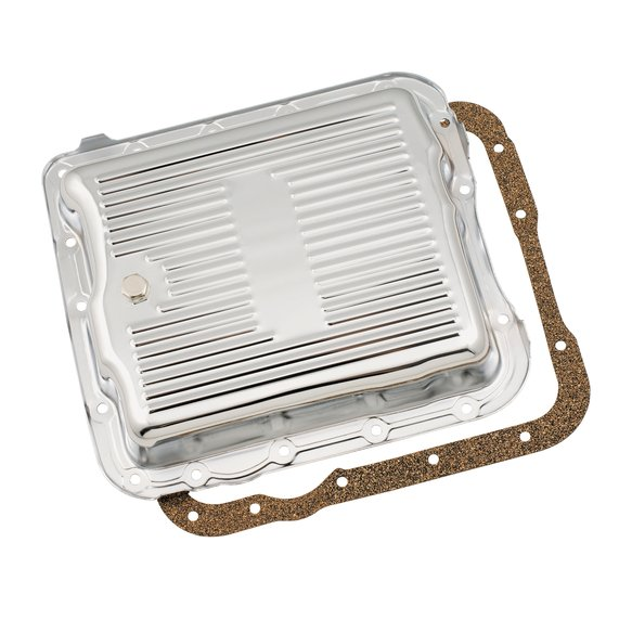 9732 - Mr Gasket Transmission Oil Pan - Chrome Image