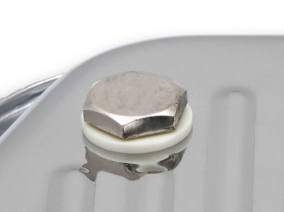 9745CMRG - Mr. Gasket Transmission Oil Pan - Chrome - additional Image