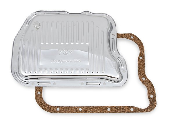 9745CMRG - Mr. Gasket Transmission Oil Pan - Chrome Image