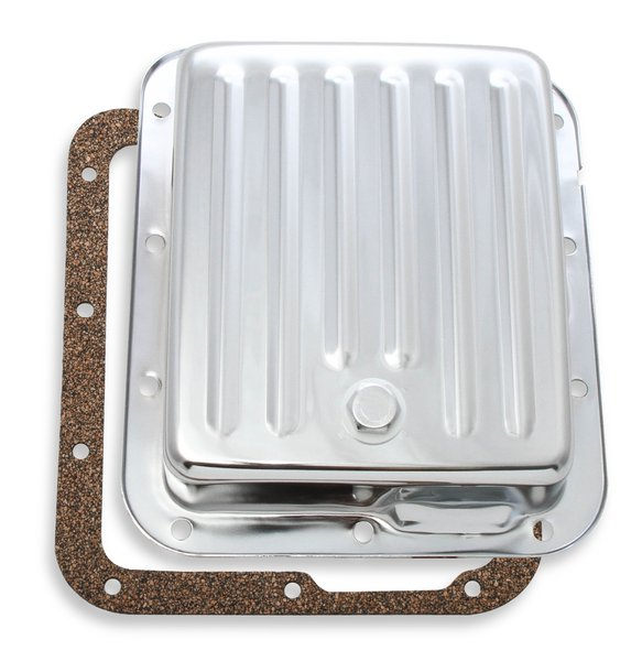 9755CMRG - Transmission Oil Pan - Chrome - Ford C4 Image