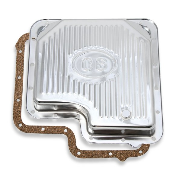 9756CMRG - Transmission Oil Pan - Chrome - Ford C6 Image