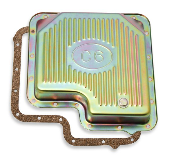 9756ZMRG - Transmission Oil Pan - Zinc - Ford C6 Image