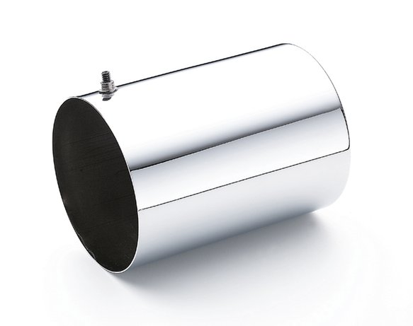 9759 - CHROME OIL FILTER COVER-LARGE Image