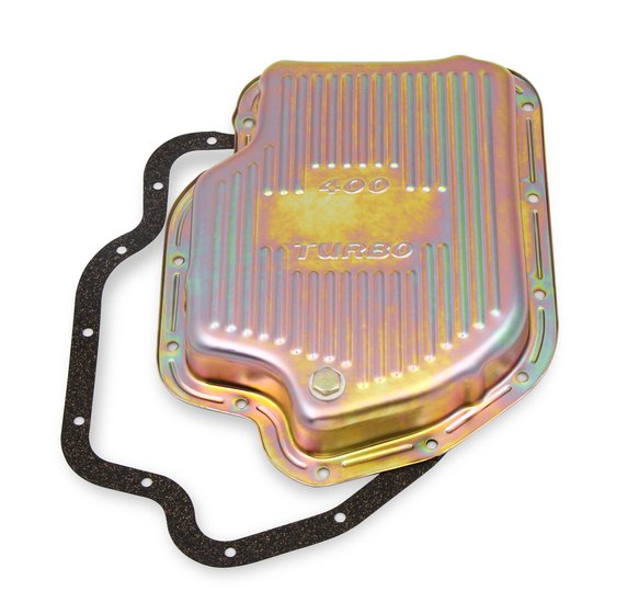 9766ZMRG - Transmission Oil Pan - Zinc - GM TH400 Image