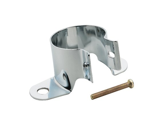 9767 - Mr. Gasket Chrome Coil Holder Bracket with Bolt - Vertical Mount Image