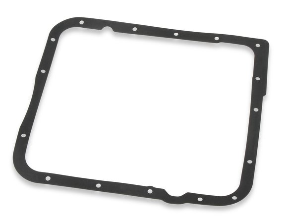 9767BMRG - Mr. Gasket Transmission Oil Pan - Black Steel - additional Image