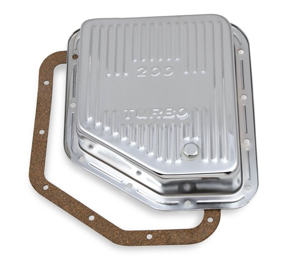 9768CMRG - Transmission Oil Pan - Chrome - GM TH200 Image