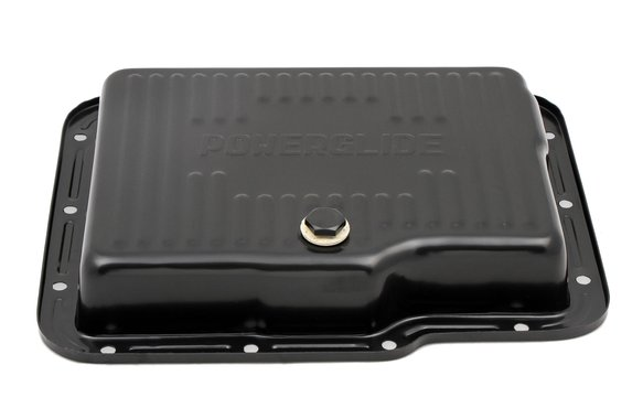 9769BMRG - Mr. Gasket Transmission Oil Pan - Black Steel - additional Image