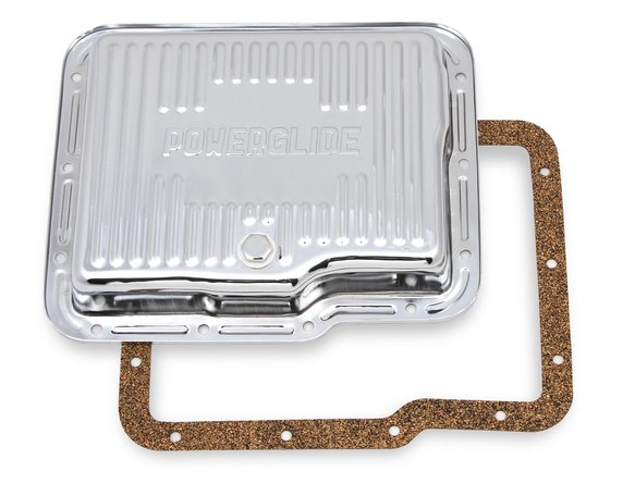 9769CMRG - Transmission Oil Pan - Chrome - GM Powerglide Image