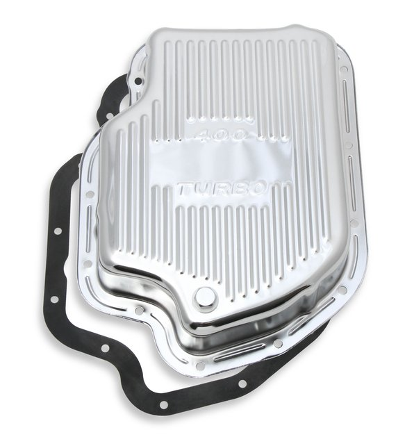 9786CMRG - Transmission Oil Pan - Chrome - GM TH400 Image