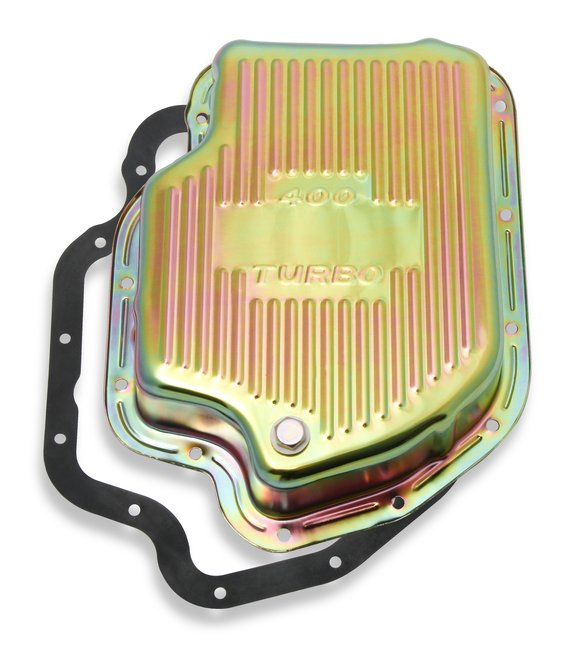 9786ZMRG - Mr. Gasket Transmission Oil Pan - Zinc Image