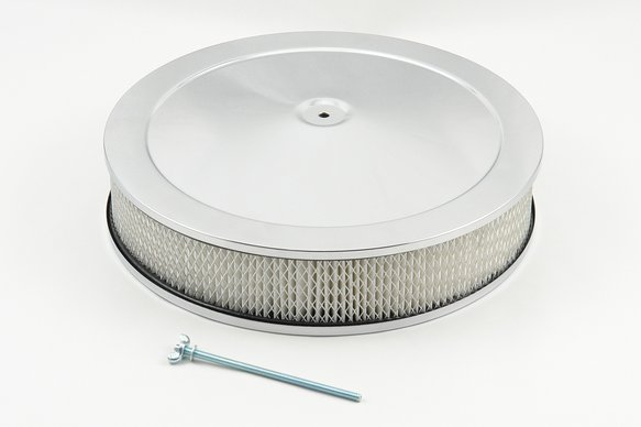 9790 - Mr Gasket Competition Air Cleaner - Chrome Image