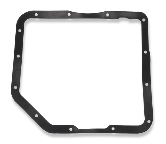 9795BMRG - Mr. Gasket Transmission Oil Pan - Black Aluminum - additional Image