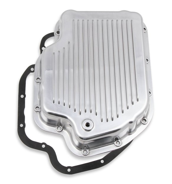 9796PMRG - Mr. Gasket Transmission Oil Pan - Polished Aluminum Image