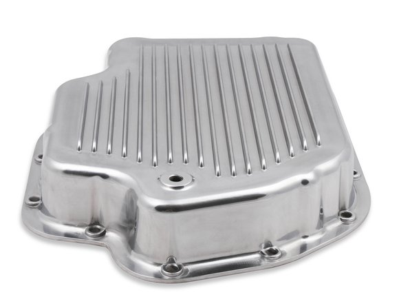 9796PMRG - Mr. Gasket Transmission Oil Pan - Polished Aluminum - additional Image